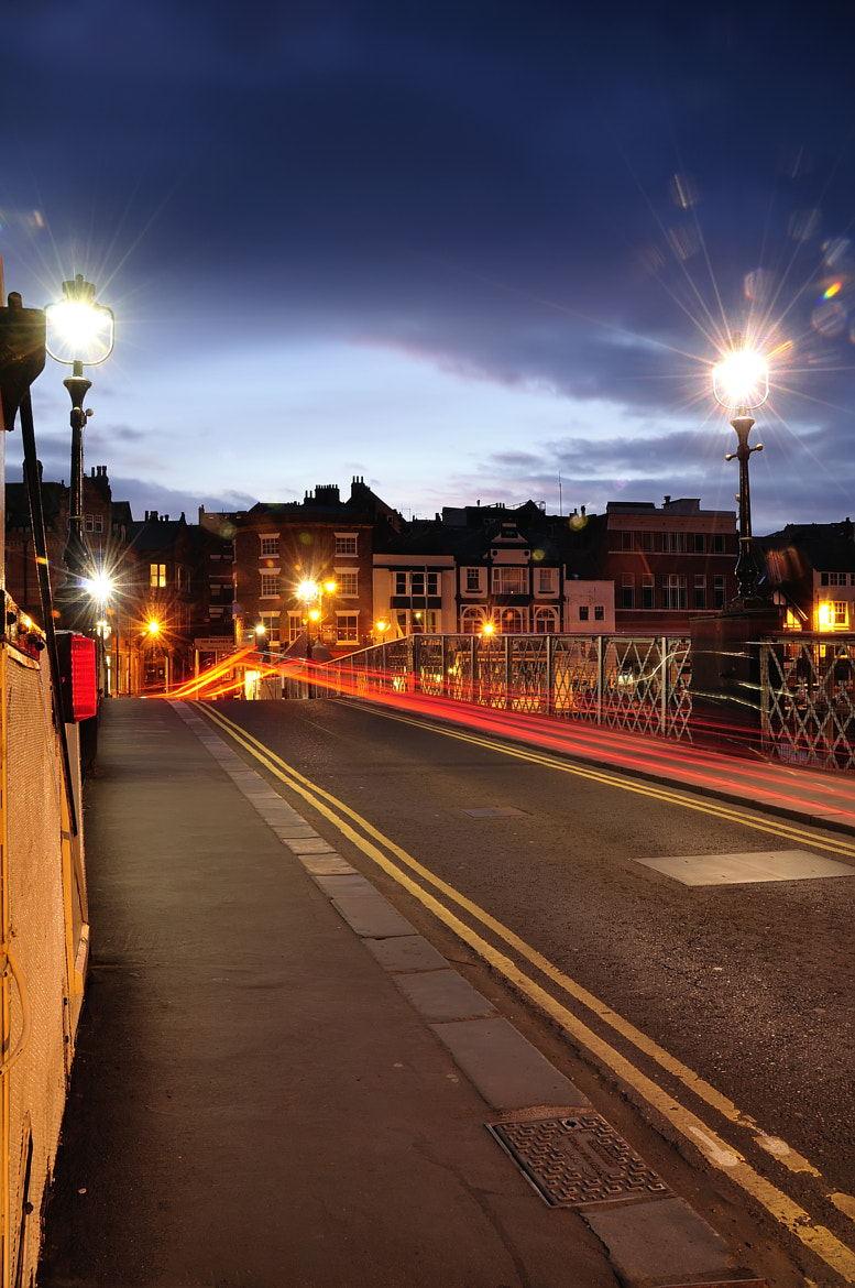 Photograph Light Trails in Whitby by Craig Richards on 500px