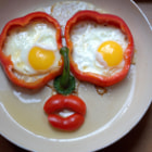Постер, плакат: Red Hot Chili Pepper Eggs