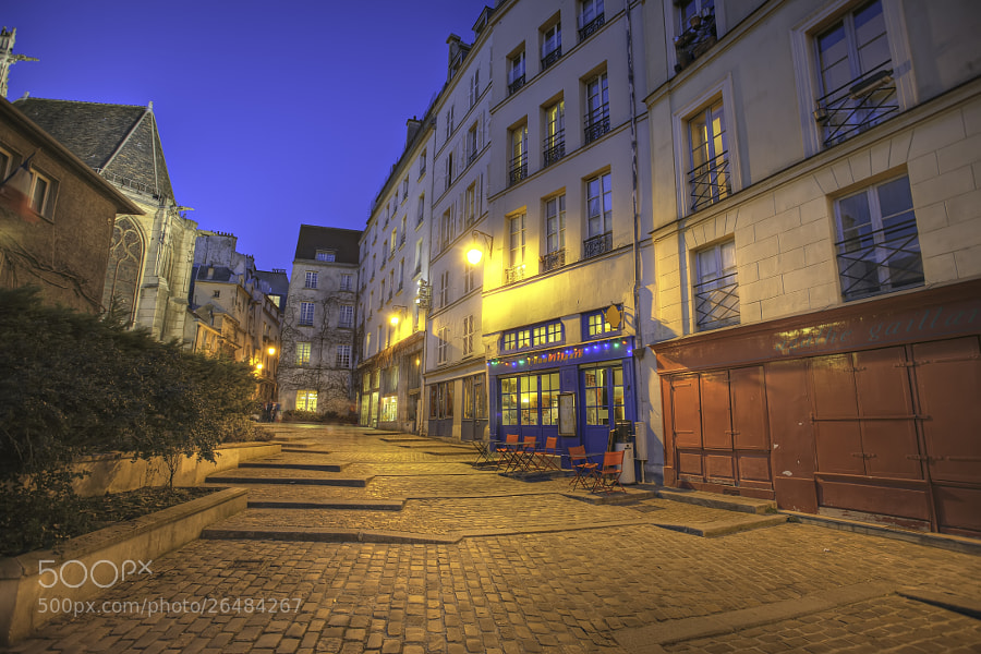Rue des Barres  by Sylvain Courant (courant)) on 500px.com