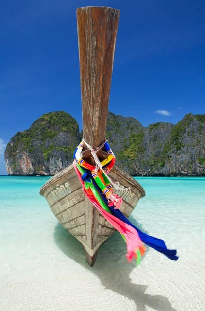 Photograph Longtail Boat, Koh Phi Phi Ley by Alexander Hare on 500px