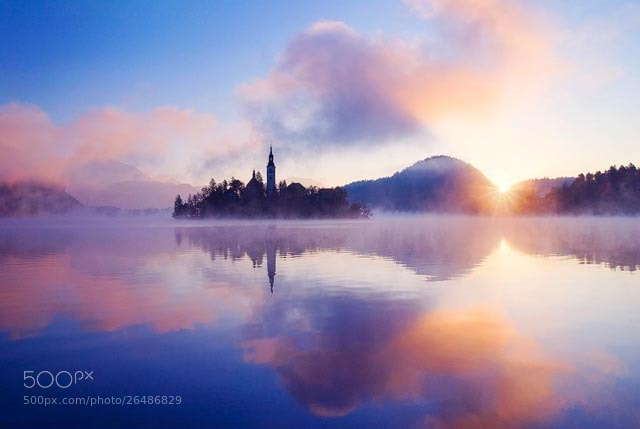 Photograph Lake Bled, Slovenia by Alexander Hare on 500px