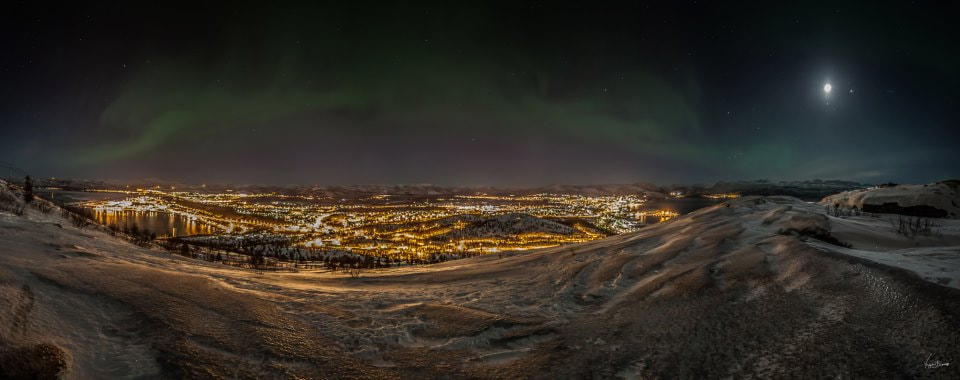 Photograph Alta - the city of the Northern lights by Yngve Blomsø on 500px