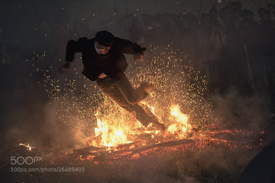 Photograph Fire dance by Hai Thinh on 500px