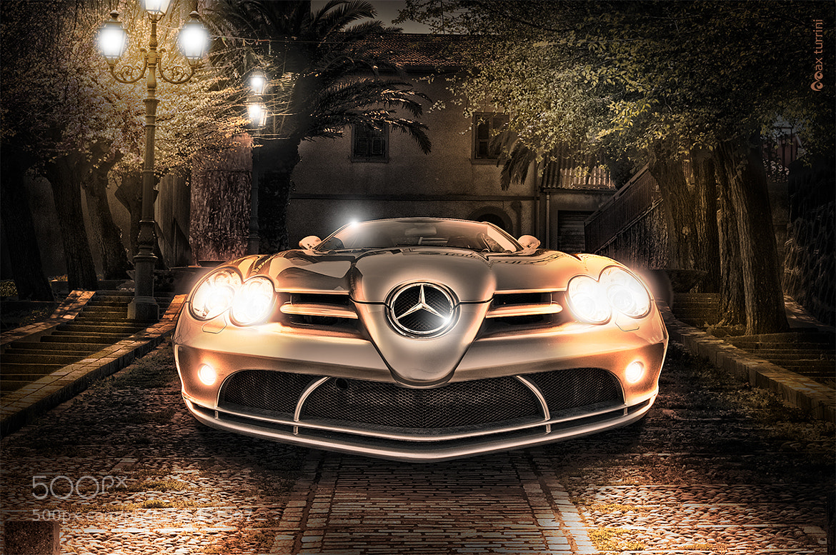 Photograph Mercedes McLaren SLR by Max Turrini on 500px