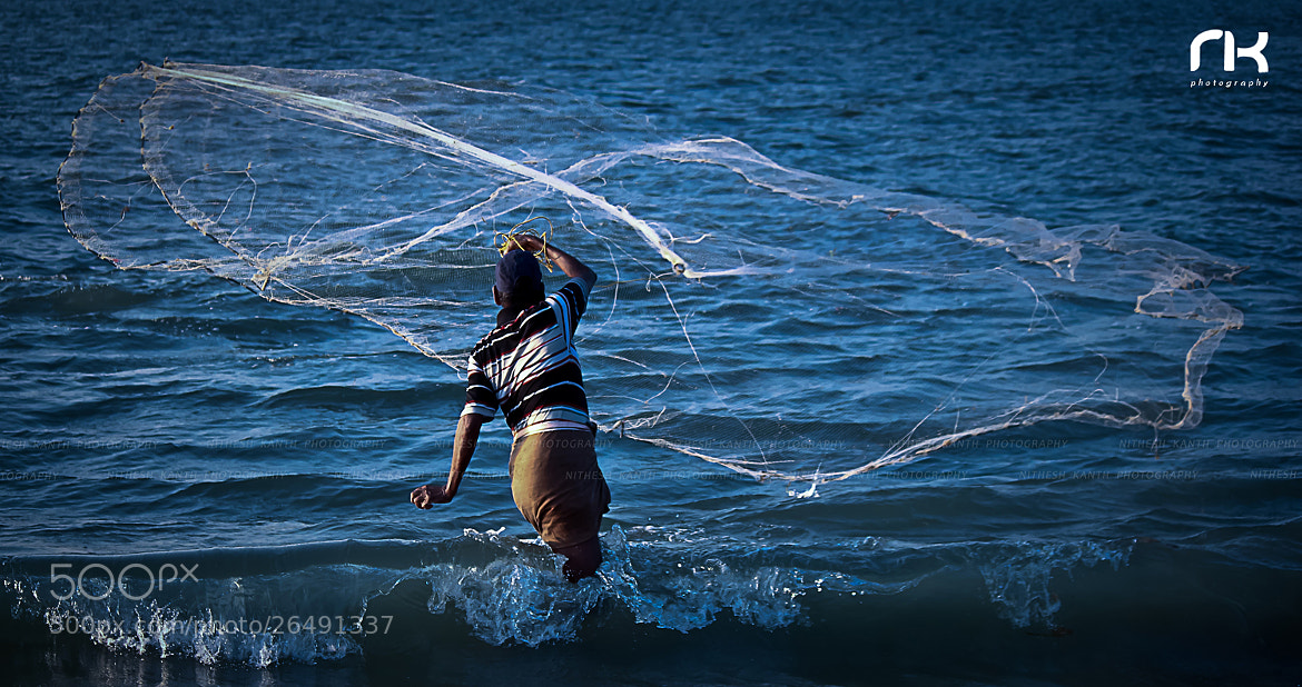 Photograph Fishing by Nithesh Kanth on 500px