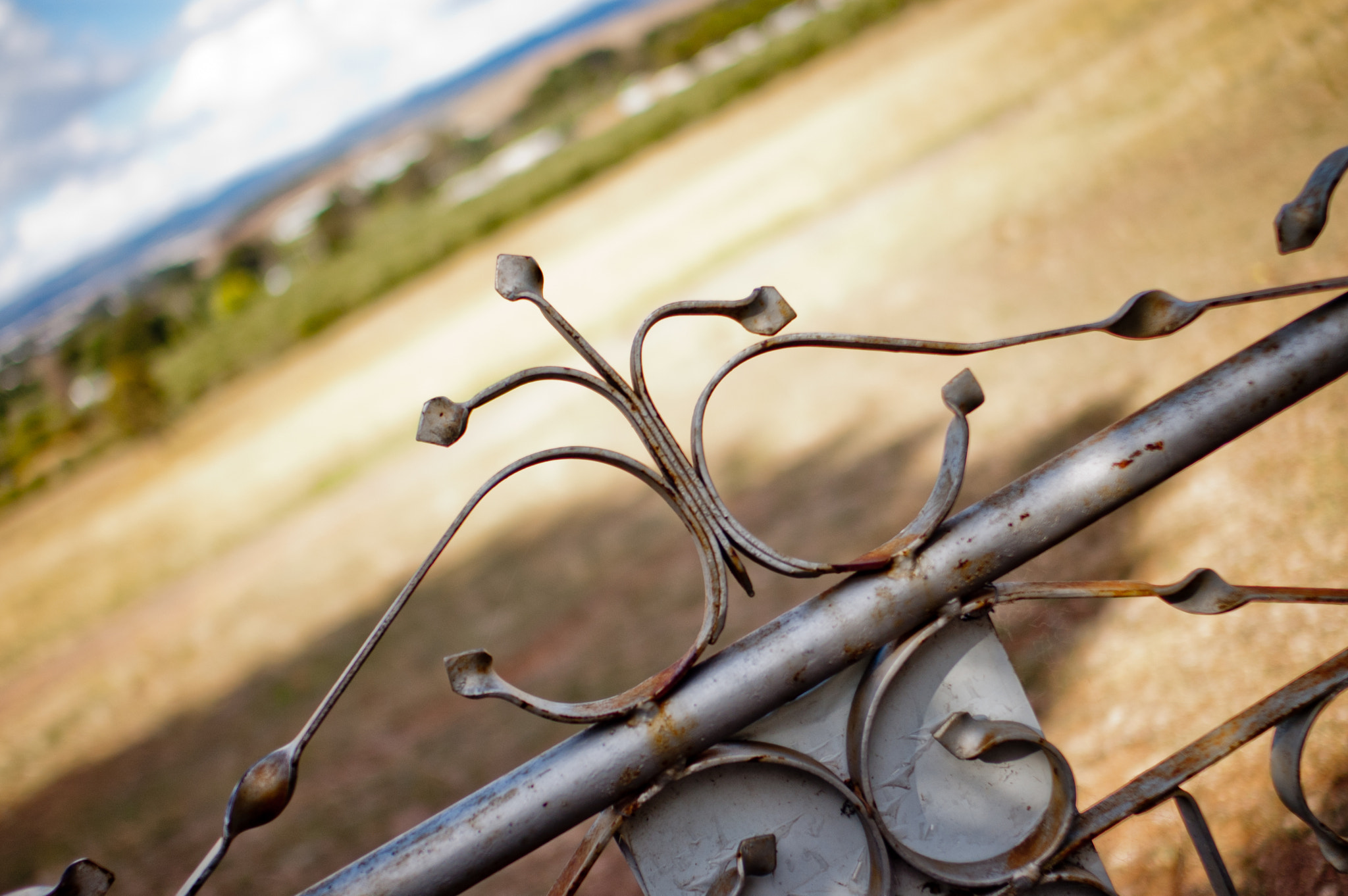Photograph farm gate by alistair noble on 500px