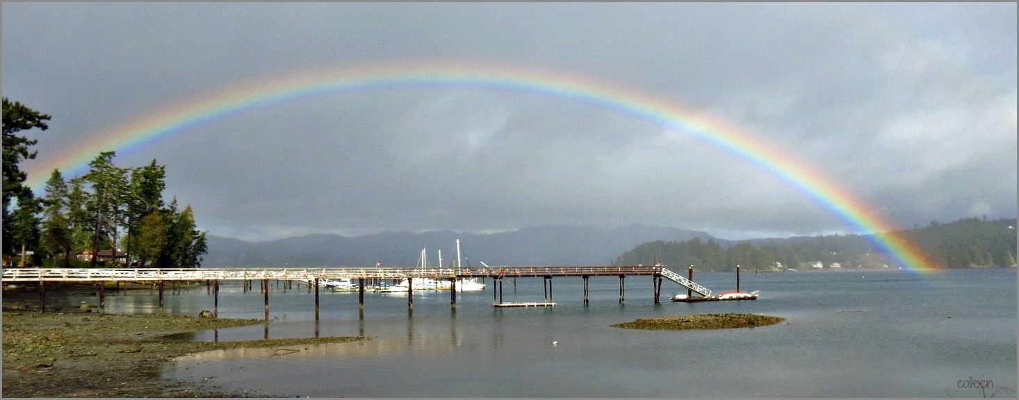 Photograph The End Of The Rainbow! by colleen thurgood on 500px