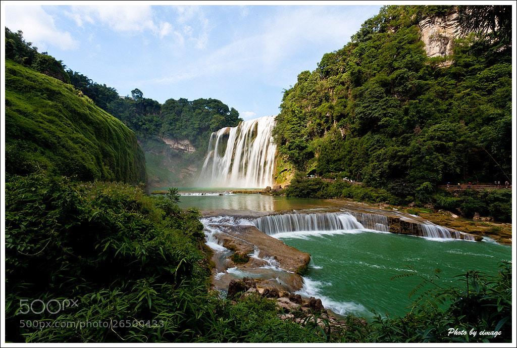 Photograph Huangguoshu Waterfall by Hongbing Ge on 500px