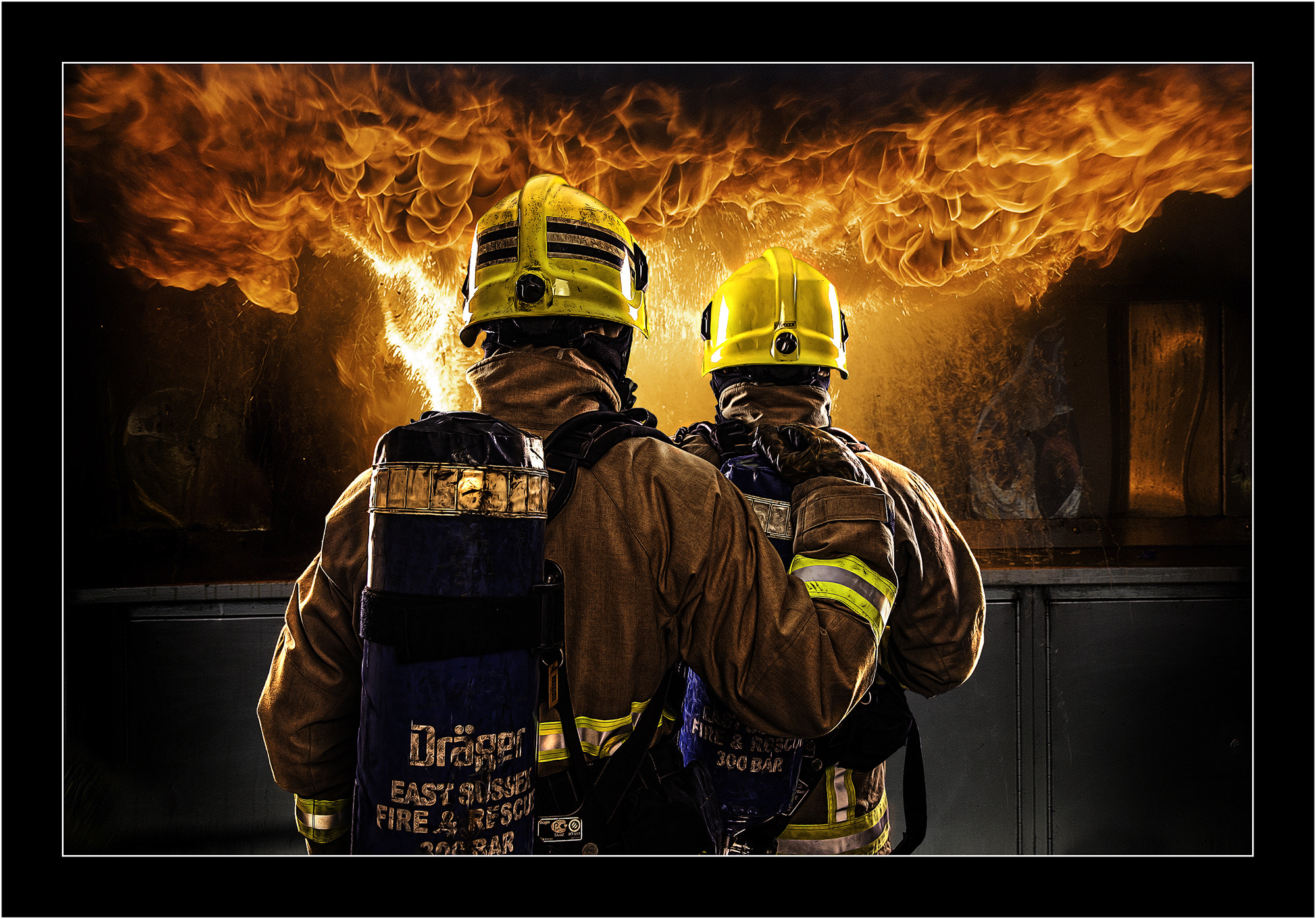 Photograph The chip pan fire by Kevin Sharpe on 500px