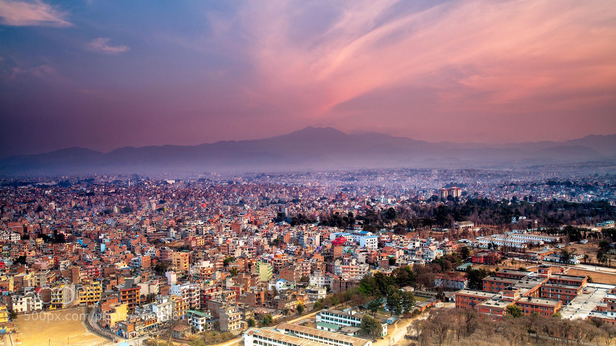 Photograph Kathmandu City by Helminadia Ranford on 500px