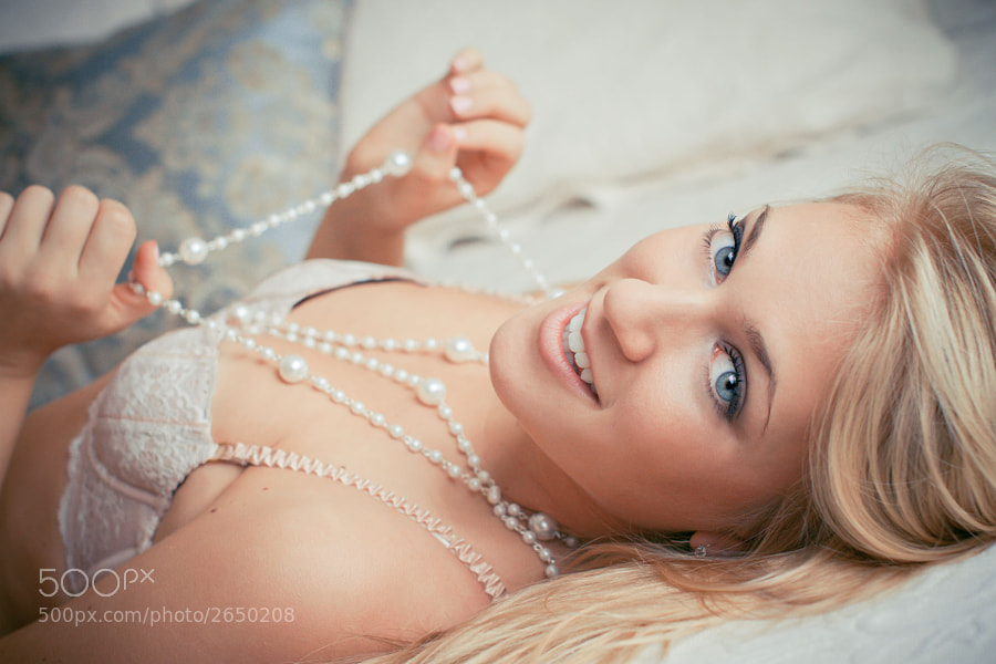 Photograph White Pearls Boudoir by Eric Heikkinen on 500px