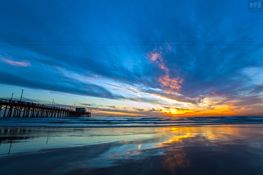 Photograph Newport Beach Pier by Nhut Pham on 500px
