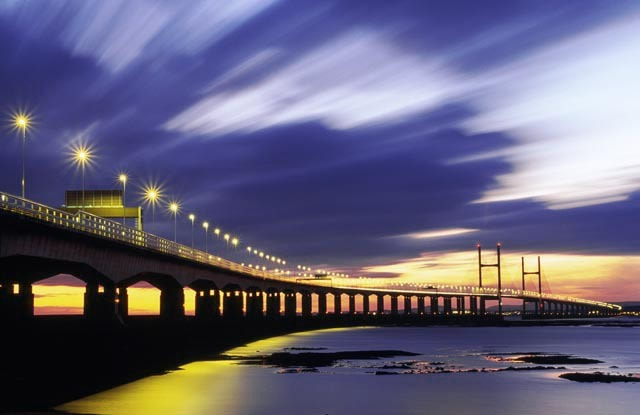 Photograph Second Severn Crossing, England, Avon by Alexander Hare on 500px
