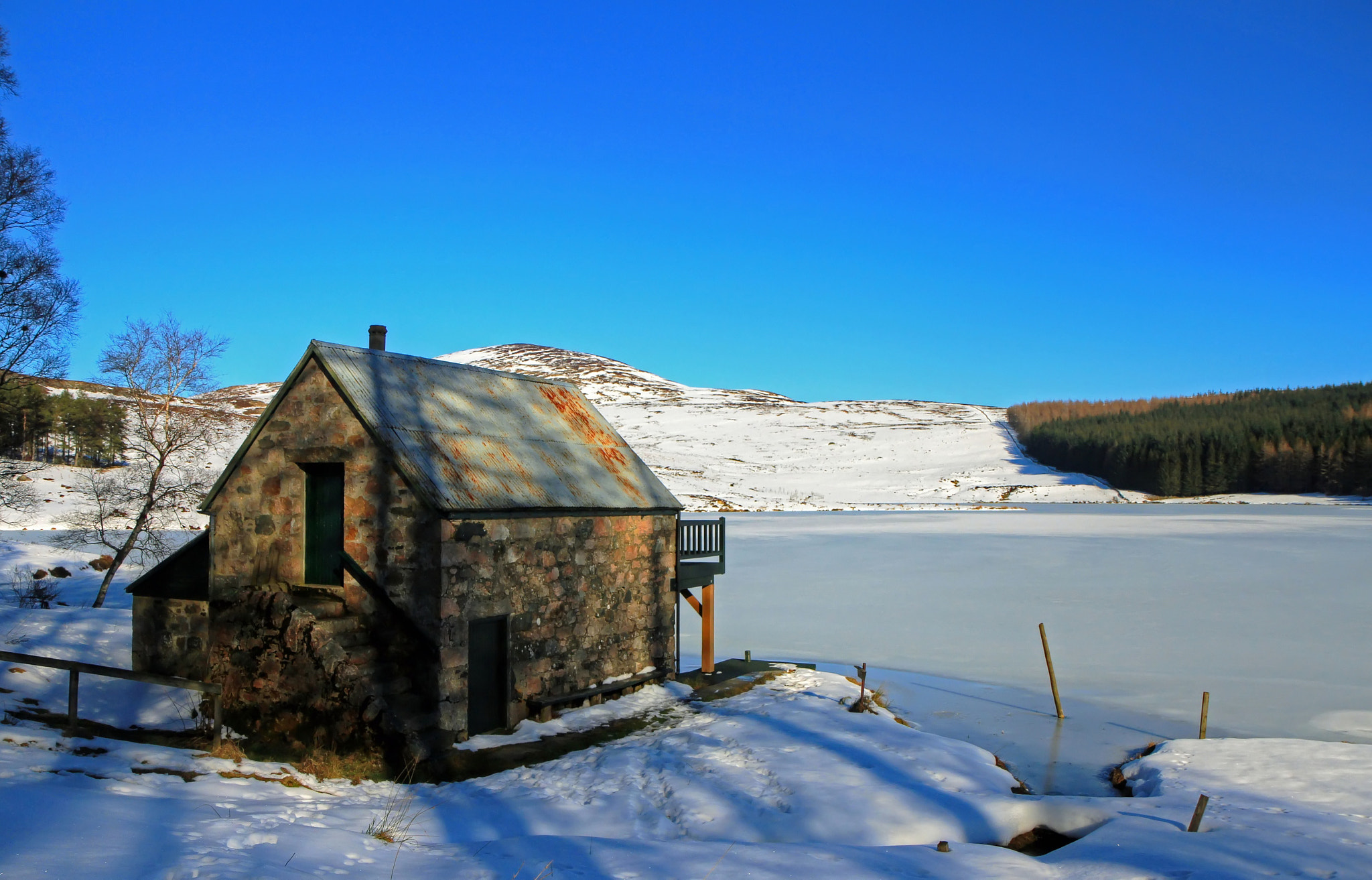 Photograph Loch Achentaple Frozen Over by Hilda Murray on 500px