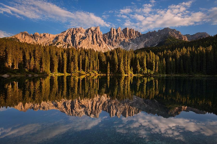 Lago di Carezza, автор — Daniel Řeřicha на 500px.com