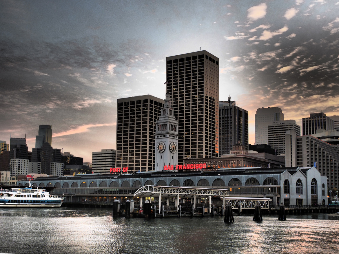 Photograph Ferry Building ... by Mark Hufstetler on 500px