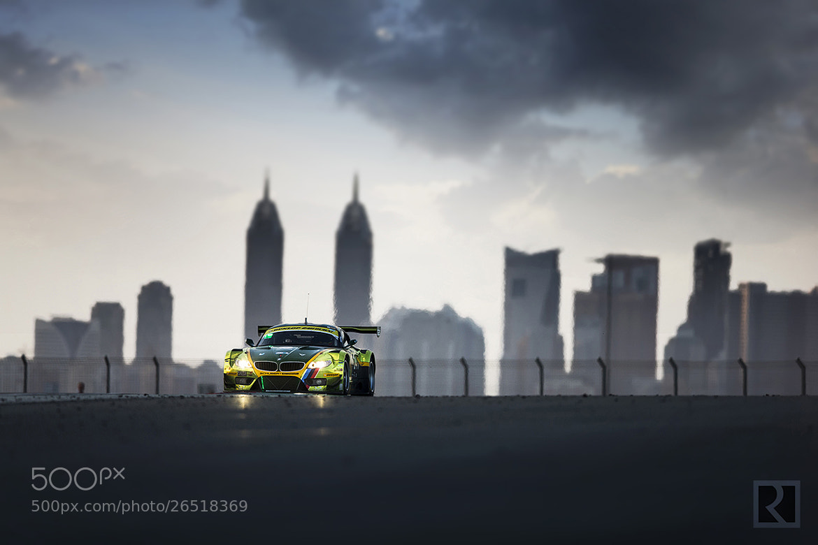 Photograph 24H Dubai 2013 - Saudi Falcons Team & Schubert Motorsport by abdullah alrodhan on 500px