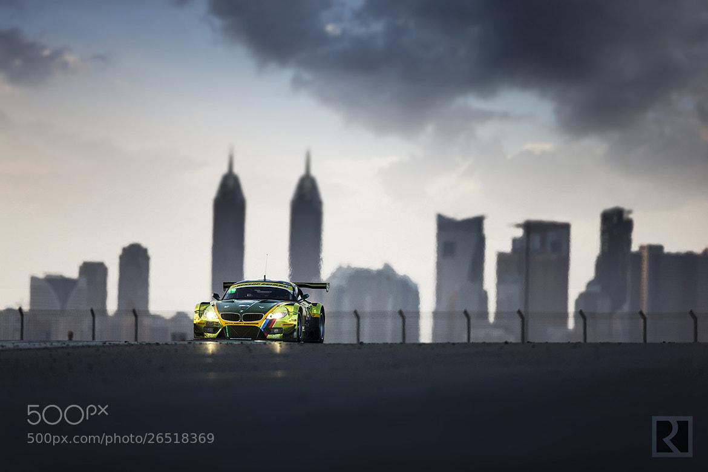 Photograph 24H Dubai 2013 - Saudi Falcons Team & Schubert Motorsport by abdullah alrodhan on 500px