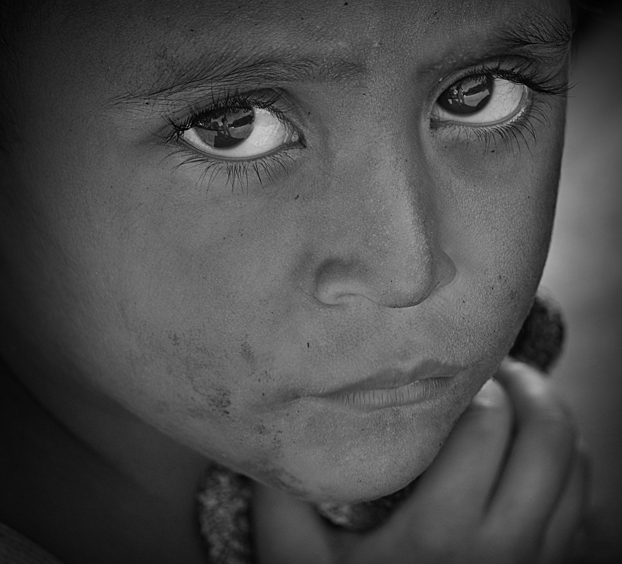 Photograph Sad Kid by Juan Funes on 500px