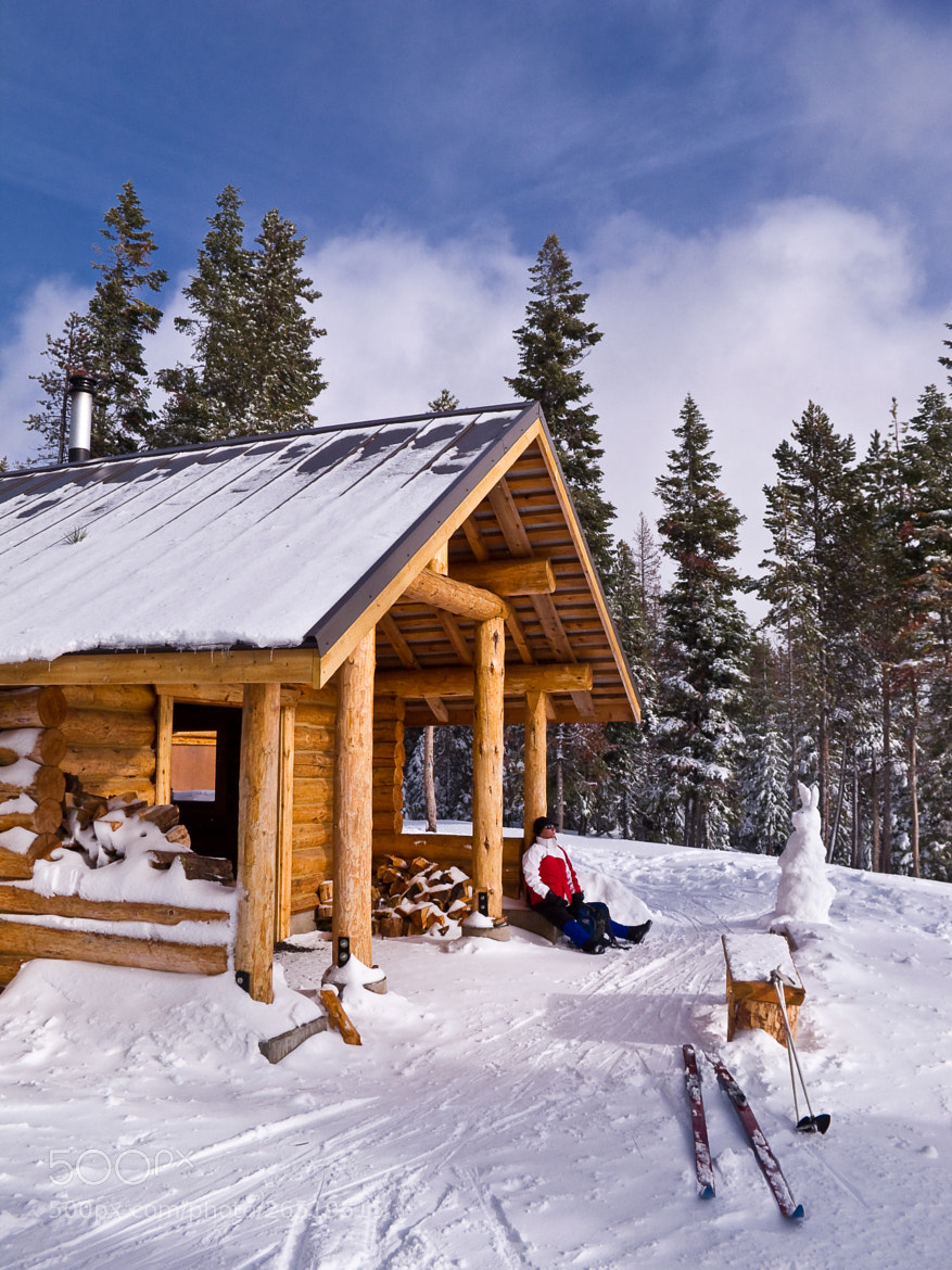 Photograph Nordeen Ski Warming Shelter by Karl Johnson on 500px
