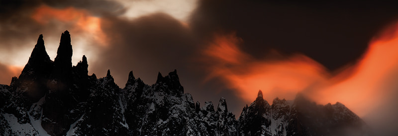 Photograph Fire Mountain by Olivier Bidot on 500px