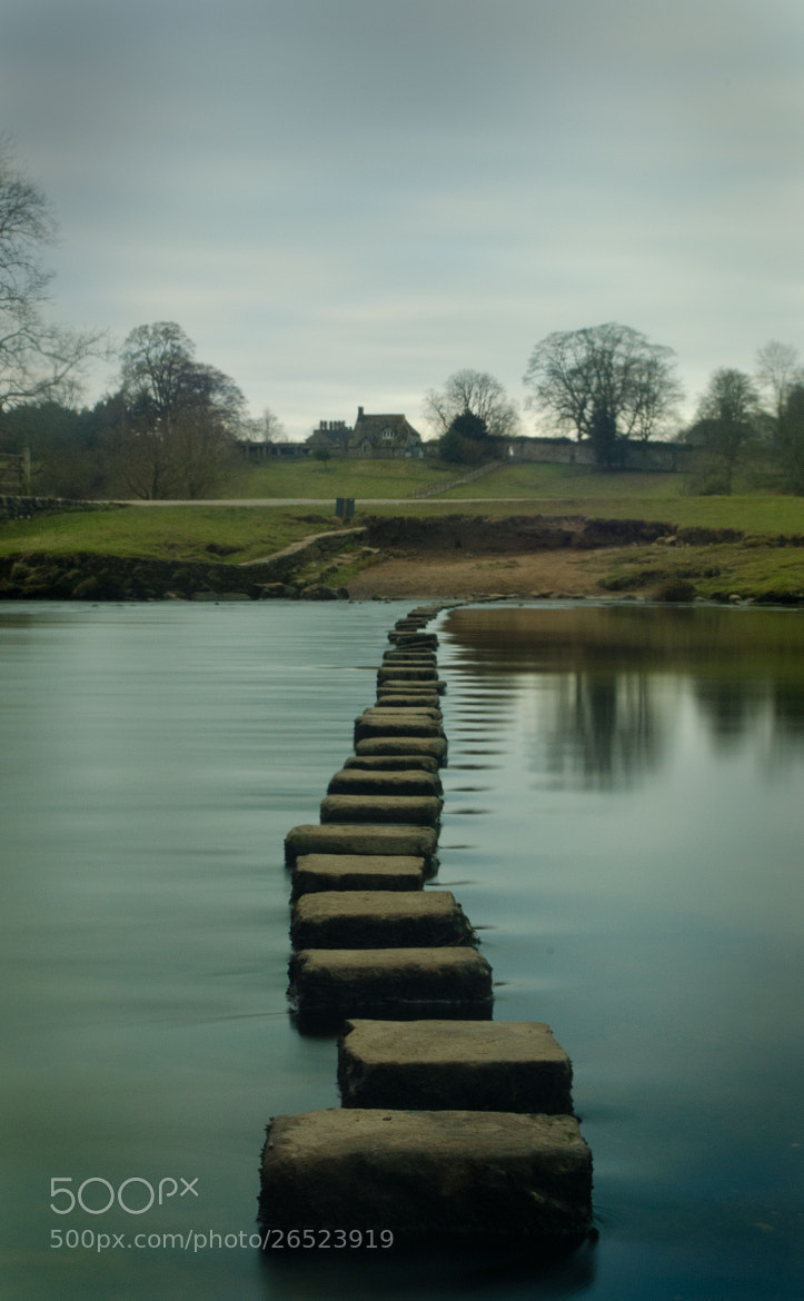 Photograph Stepping Stones by Youngman Images on 500px