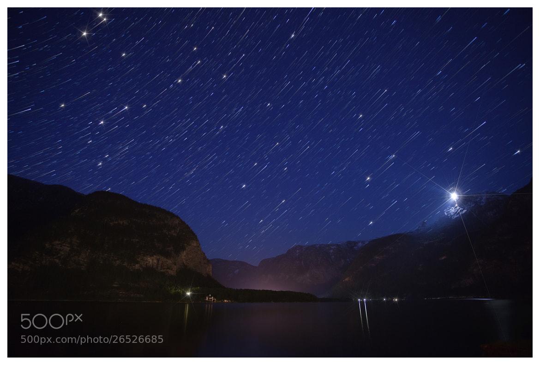 Photograph Star trails in Hallstatt by Tim Nazarov on 500px