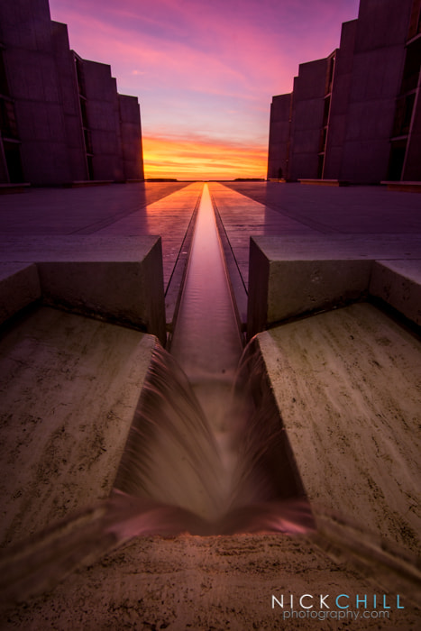 Photograph The Violet Path by Nick Chill on 500px