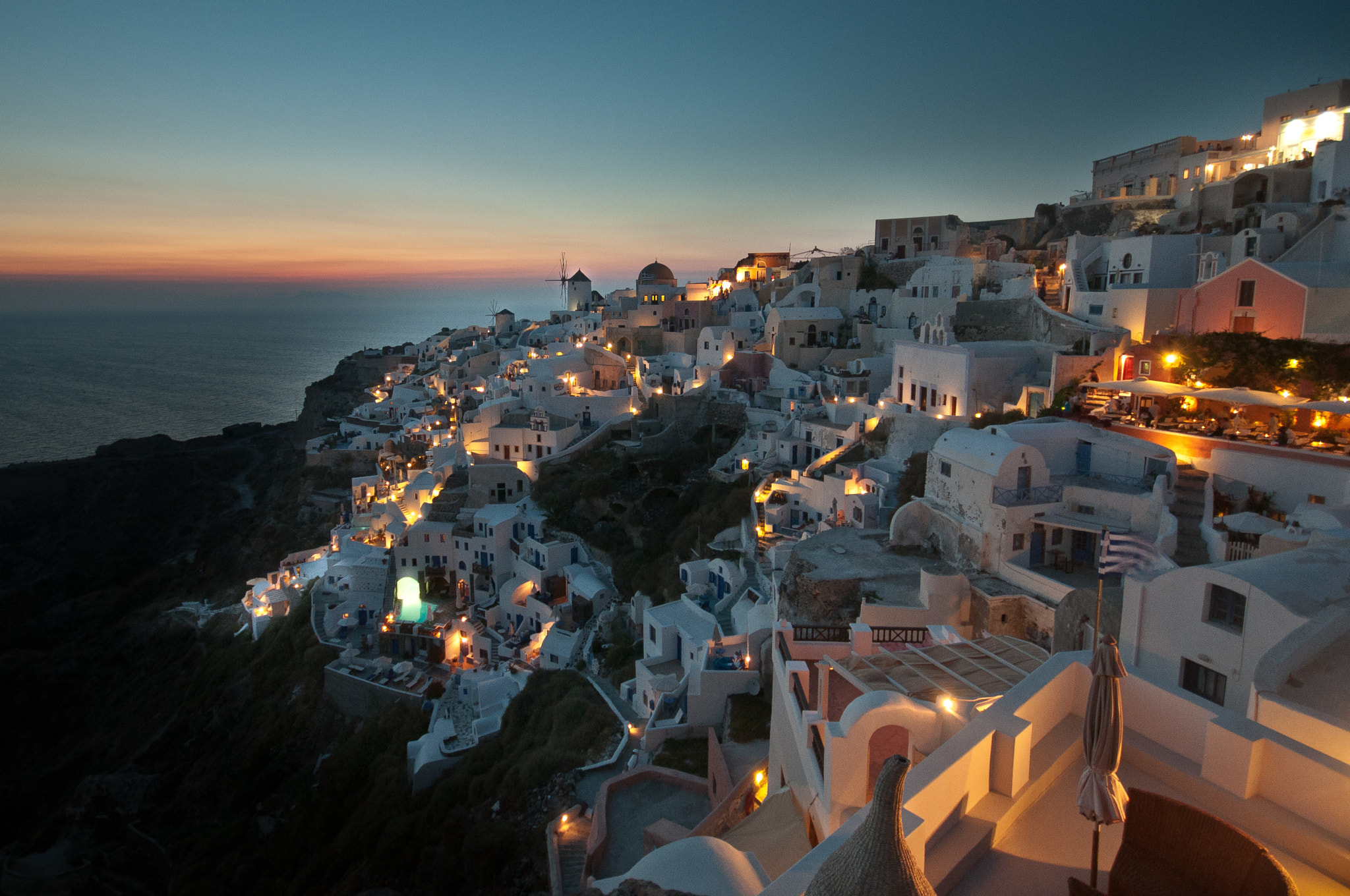 Photograph Santorini Sunset by Reid Gower on 500px