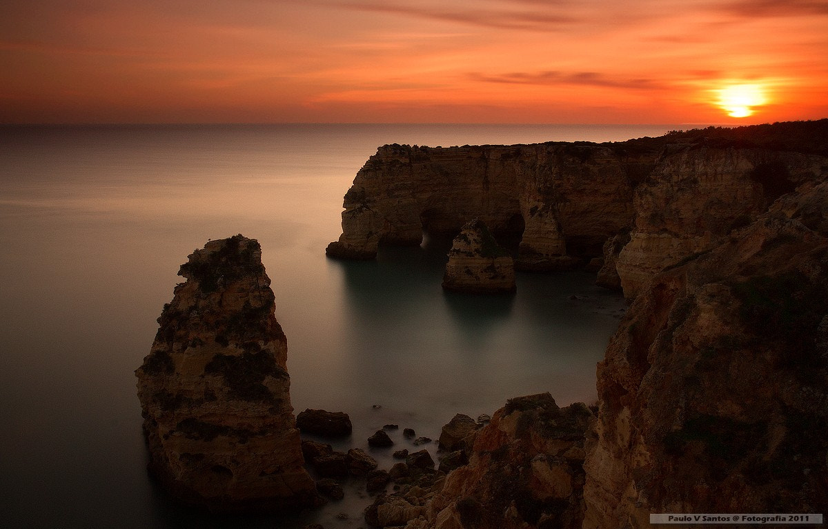 Photograph Sunset Rocks by Paulo Santos on 500px