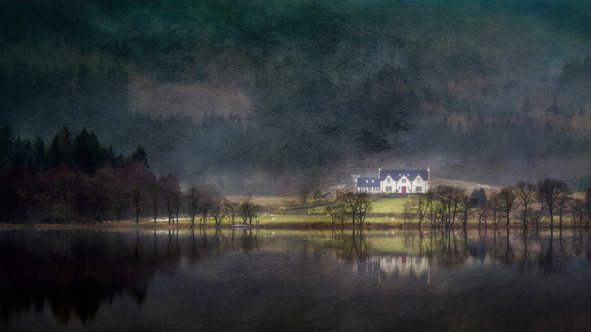Photograph Big House on Loch Chon... by David Mould on 500px
