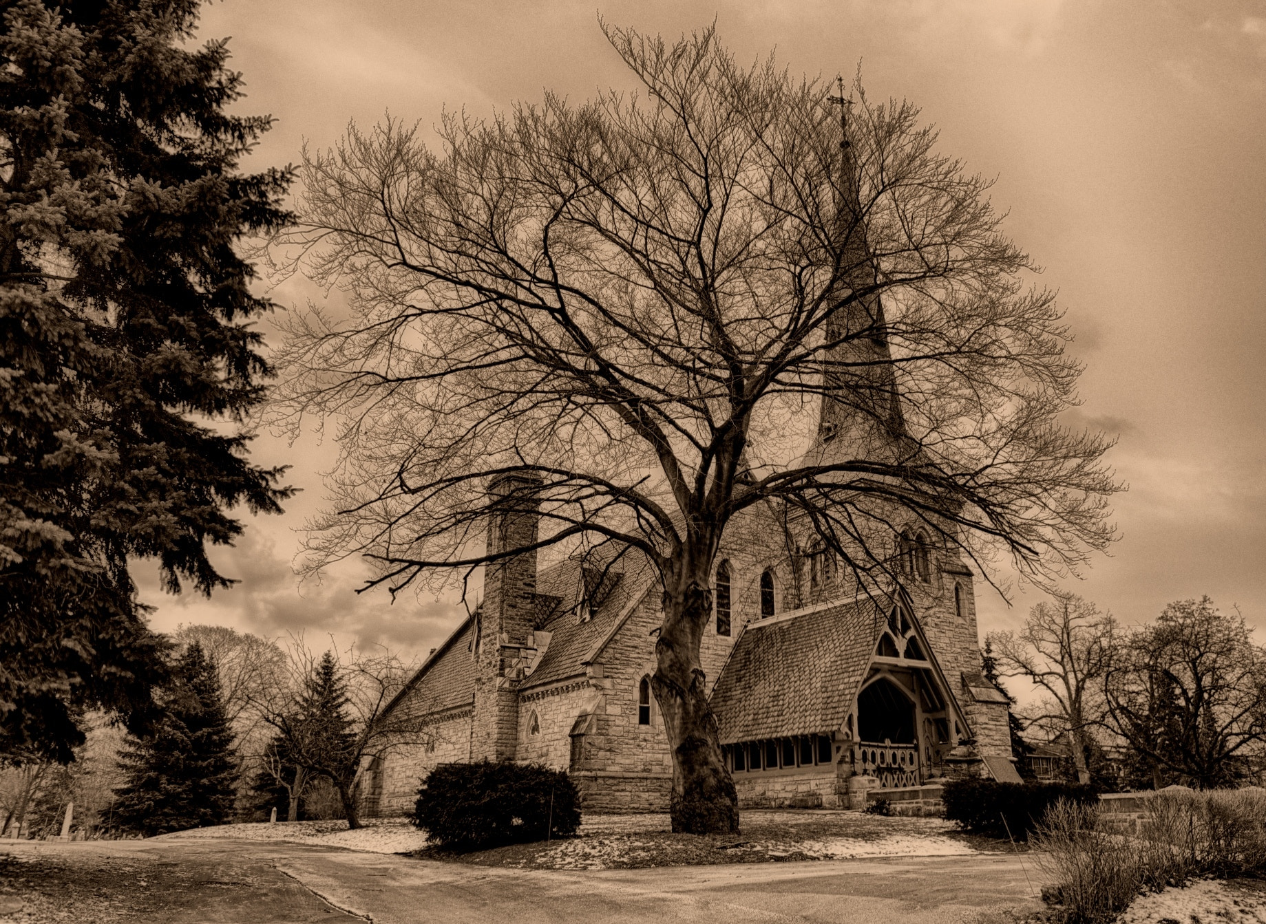 Photograph Chapel of St. James-the-Less by Chris Smith on 500px