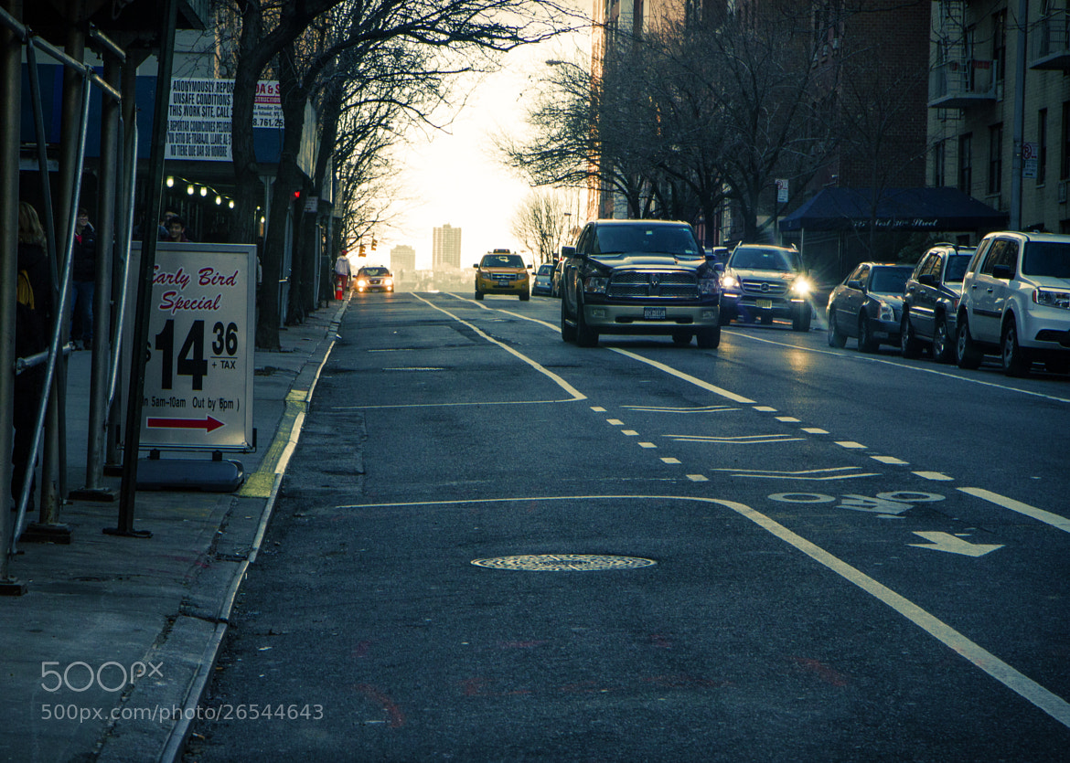 Photograph Up the Street NY by Darren LoPrinzi on 500px