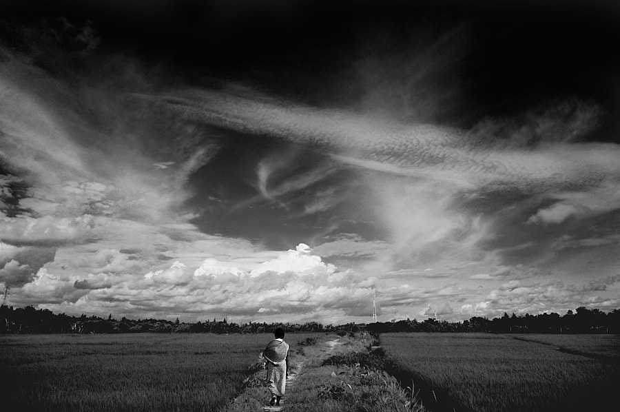Photograph Go Home (BW) by 3 Joko on 500px