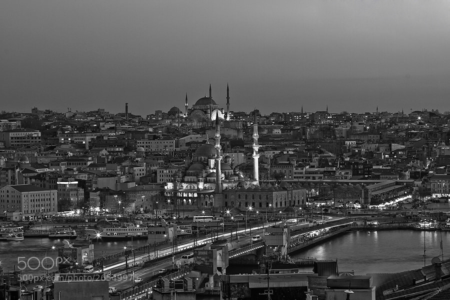 "Photograph ""city &night""(istanbul) by e&e photography on 500px"