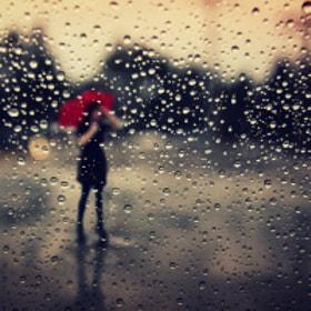 Travel Photography: Tears on the window by Tatiana Avdjiev