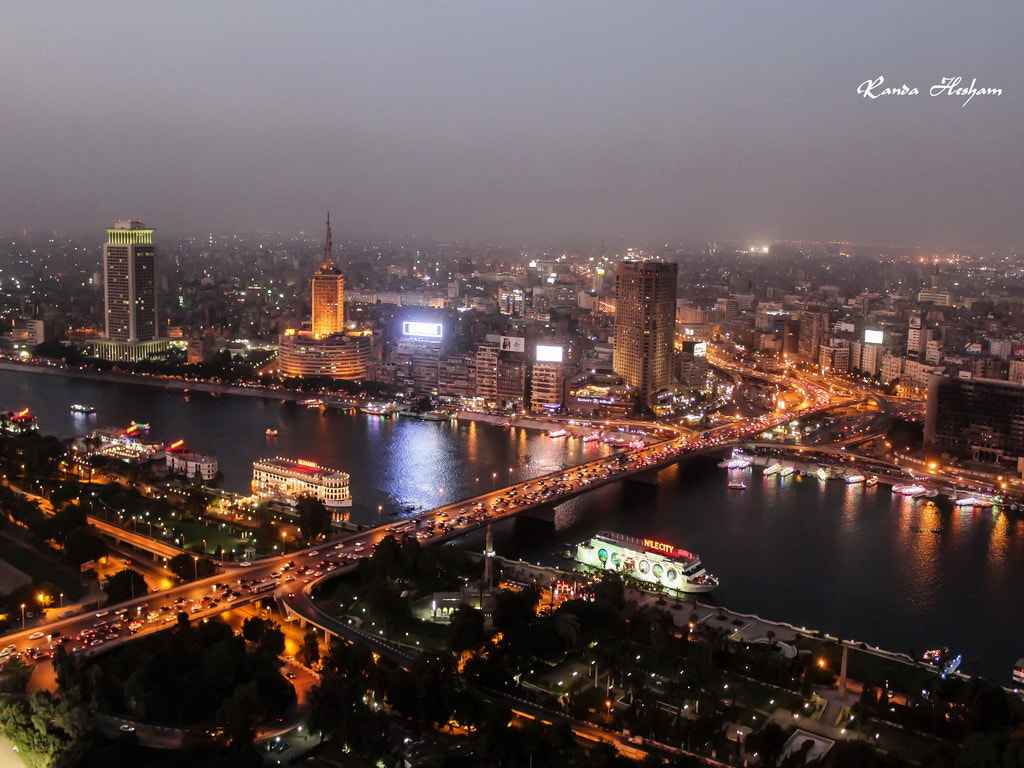 Photograph Cairo at Night by Gebrand Selim on 500px