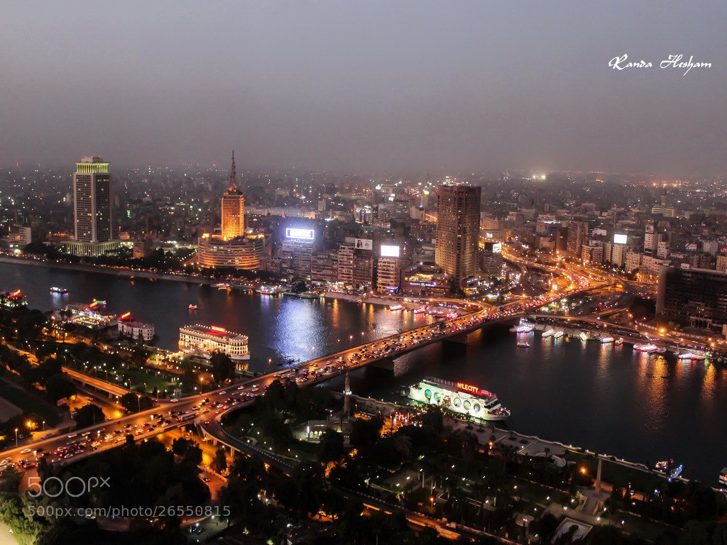 Photograph Cairo at Night by Randa Hesham on 500px