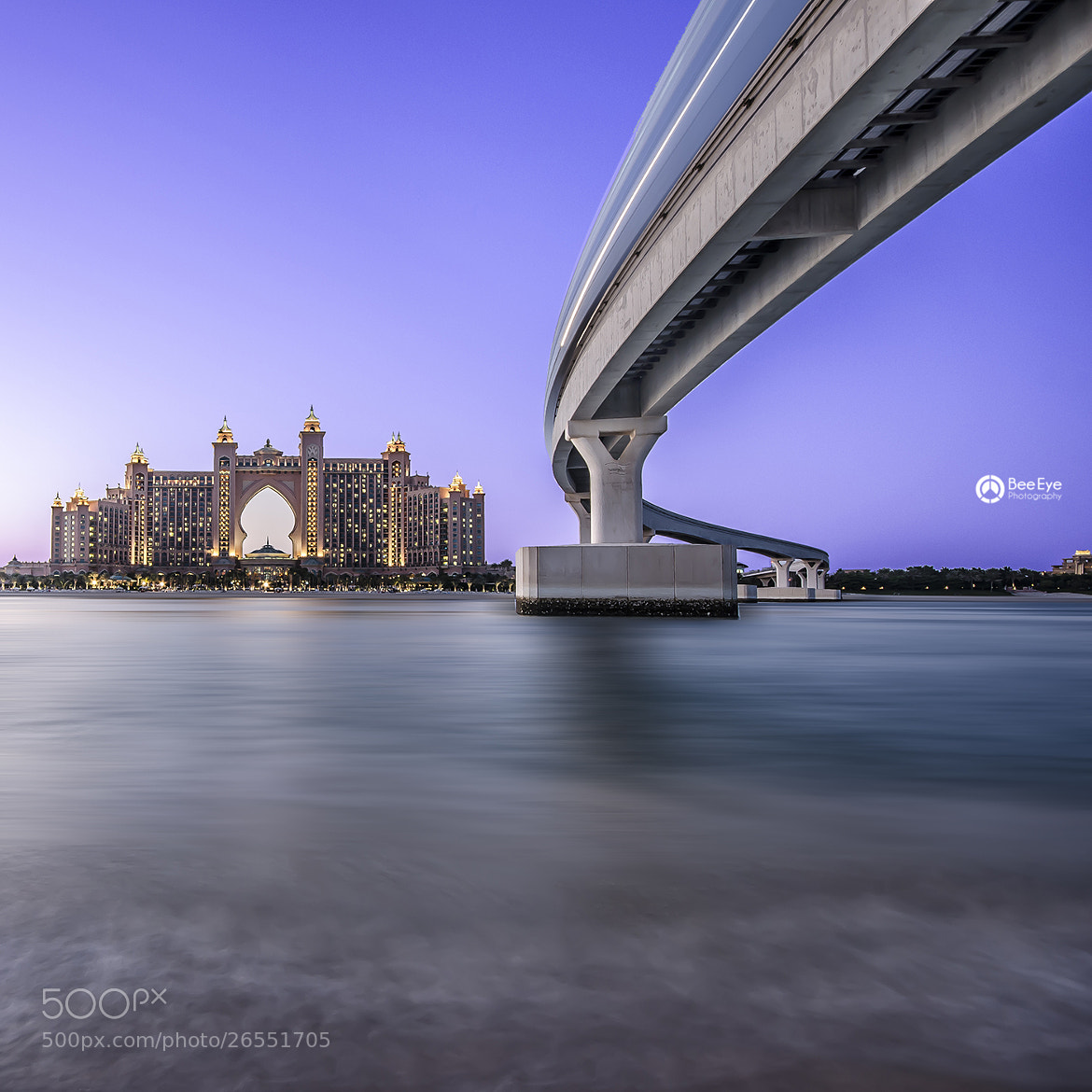 Photograph Atlantis Dubai by Bee Eye on 500px