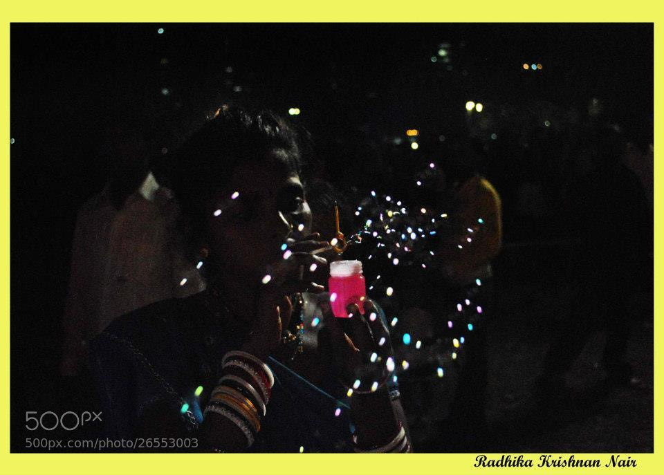 Photograph Bubbles by radhika nair on 500px