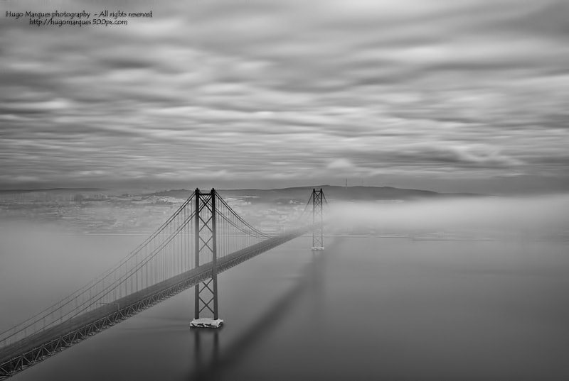 Photograph long misty bridge by Hugo Marques on 500px