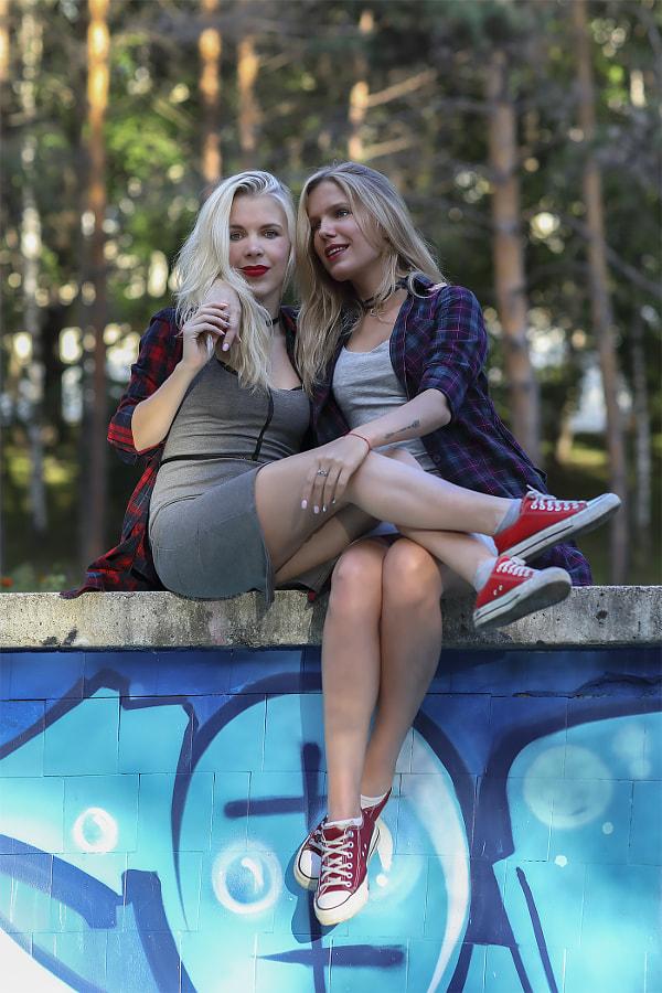 Loving Sisters, автор — Сергей К на 500px.com