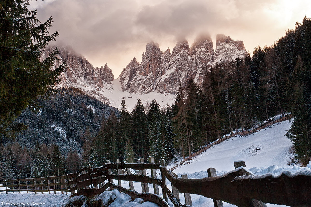 Photograph Odle in the clouds by Francesco Damin on 500px