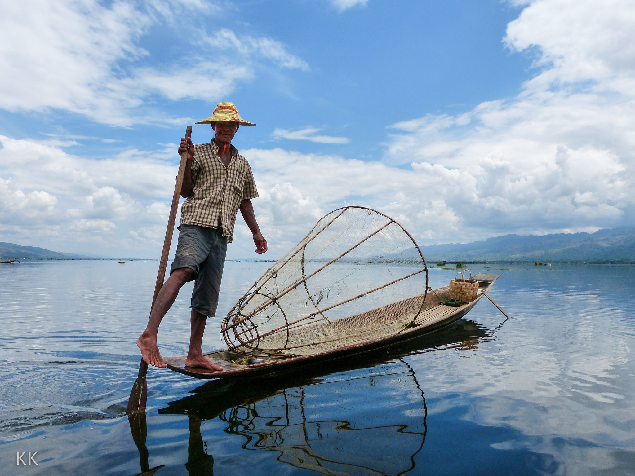 Photograph Fishing on Lake Inle, northern Burma by Kevin Kelly on 500px