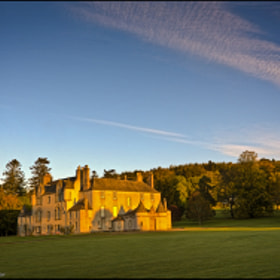 Leith Hall At Dawn