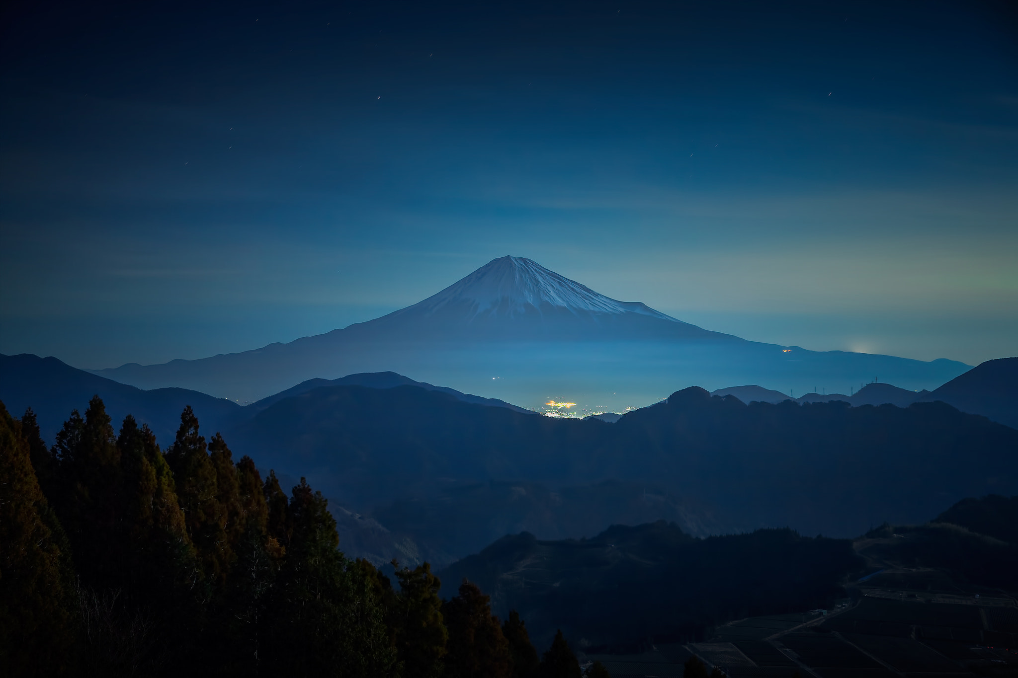 Photograph Mt.Fuji in the night by MIYAMOTO Y on 500px
