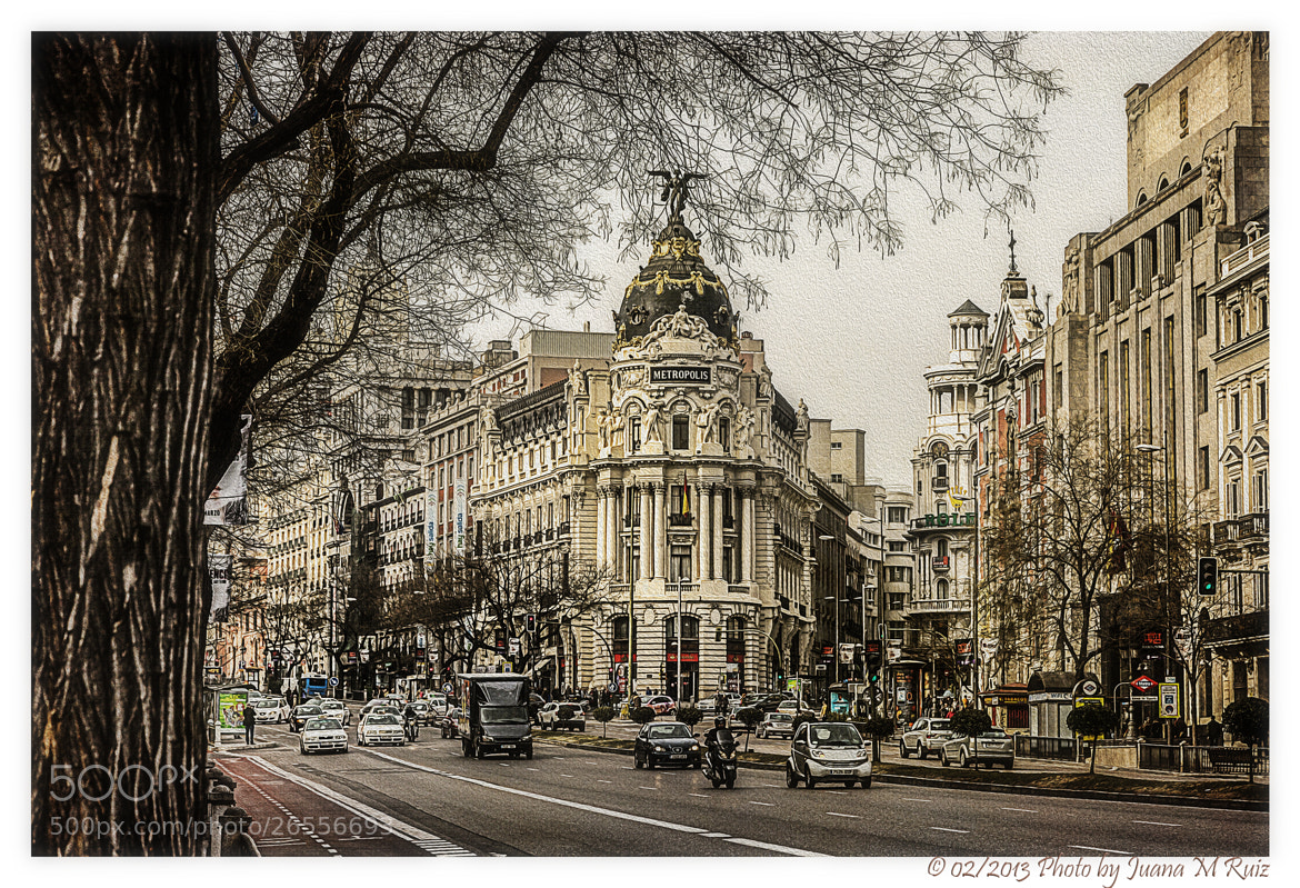 Photograph Metrópolis (Madrid) by Juana Maria Ruiz on 500px