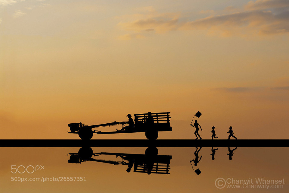 Photograph Go Home by Chanwit Whanset on 500px