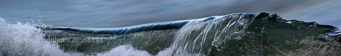 Photograph waves-IMG_2740-pan-01 by Jan-Peter Semmel on 500px