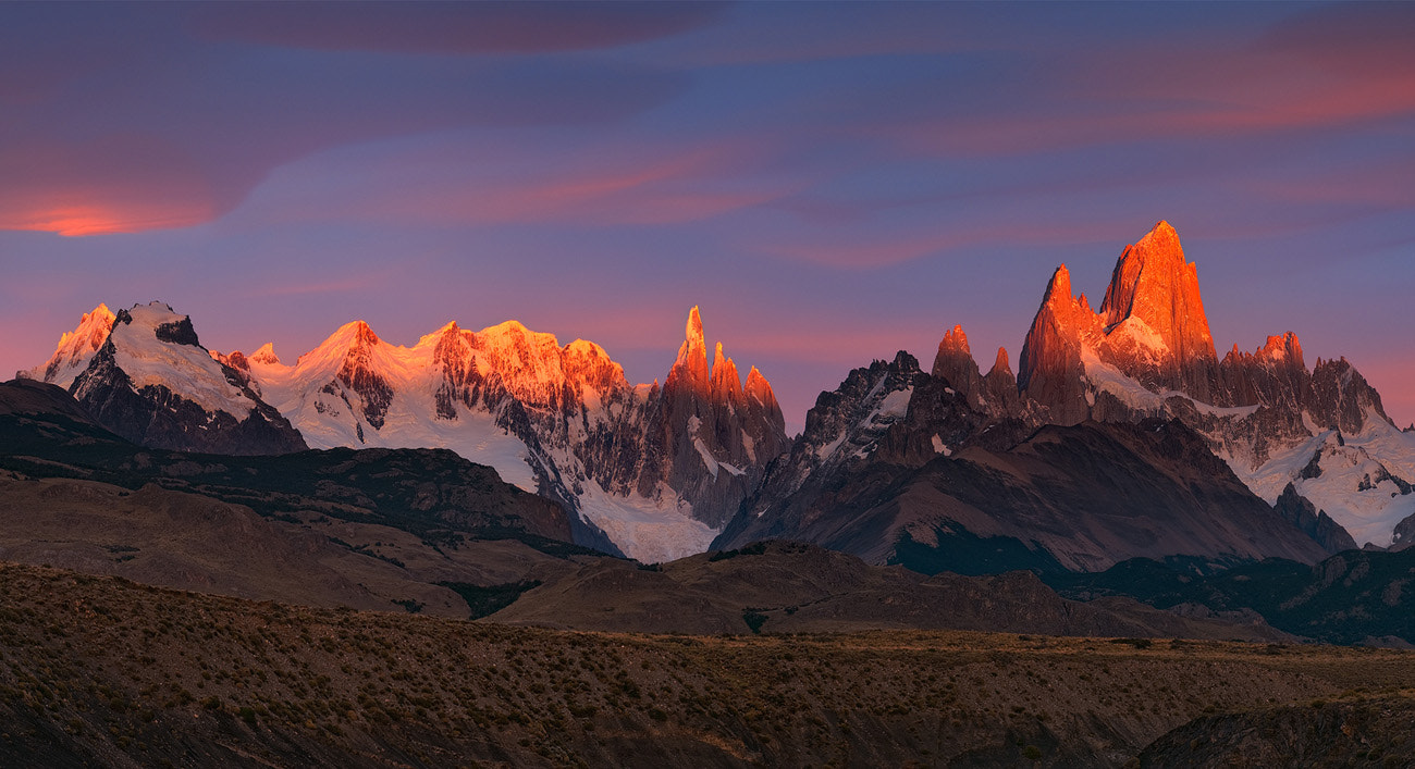 Photograph Alpenglow in The Second Power  by Mike Reyfman on 500px